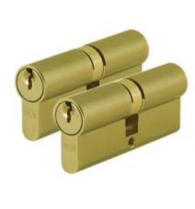 Paired Alike Door Cylinders / Door Barrels