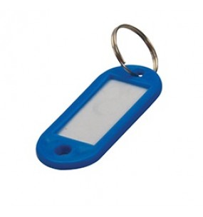 Key ID Tags (Assorted Colours) (12 Pack)