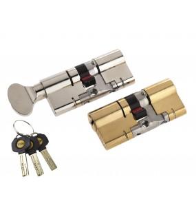 Yale Anti-Snap Platinum Double Door Cylinder
