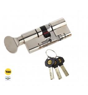 Yale Anti-Snap Platinum Thumbturn Door Cylinder