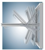 Aura Fully Reversible Window Hinges