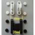 Bi-Fold Patio Door Hold Open Catch Clip