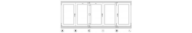 Bi-Folding Door Hardware