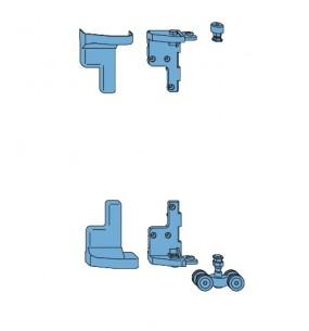 SI Siegenia FS-Portal Bi-Fold Door Hinge (Carton D)