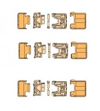 SI Siegenia FS-Portal Bi-Fold Door Hinge (Carton B)