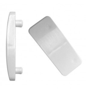 Cockspur Window Handle Wedge (White) (Pack of 10)