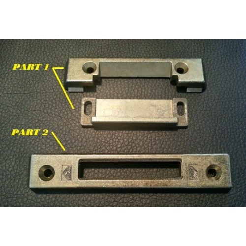 Roto Door Latch And Deadbolt Keep Spares