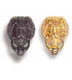 Lions Head Door Knocker
