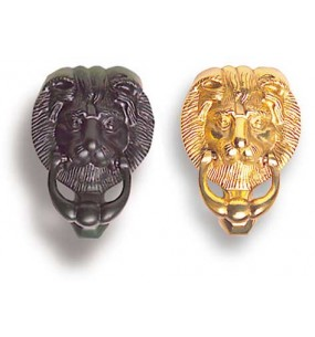 Lions Head Door Knocker