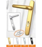 Ideal 92pz Door Handles (Gold)