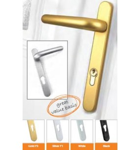 Ideal 92pz Door Handles (Silver)