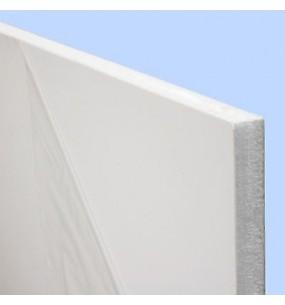 White Upvc Flat Replacement Door Panel Insert
