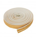Self-Adhesive E-Profile Weather Strip 15m