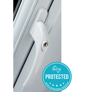 Grip™ BioCote Antimicrobial Espagnolette Window Handle