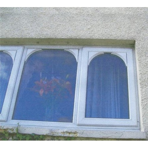 Upvc replica window arches pair for Arch window replacement