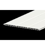 Liniar 300mm Hollow Soffit Board White