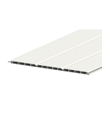 Liniar 300mm Hollow Soffit Board White