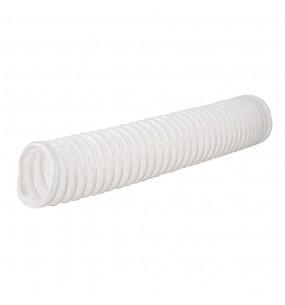 White Flex Ducting Vent Hose 100mm