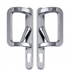 Patio Door Handle 'P' Shape