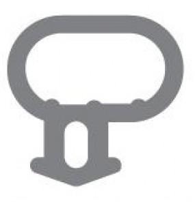 Option 1: Bubble Seal Window Gasket / Door Gasket