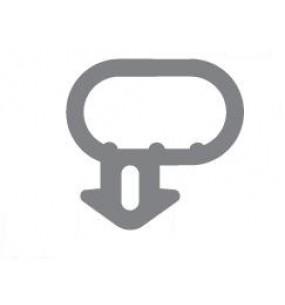 Option 2: Bubble Seal Window Gasket / Door Gasket