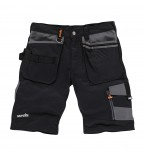 Scruffs Trade Shorts Black
