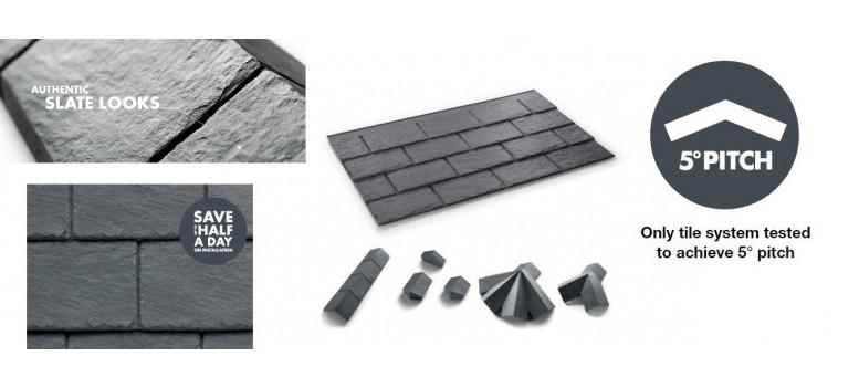 SlateSkine Tile Roof