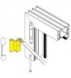 SI Siegenia Tilt Switch Barrier