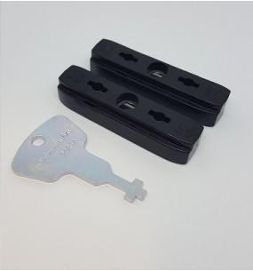 SI Siegenia Tilt and Slide Slider Glider Blocks (PSK) (pair)