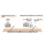 SI Siegenia Tilt and Slide Patio Door Stay Arm (PSK Portal 160)