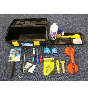 Toolbox with Various Trade Tools (BARGAIN PRICE!)