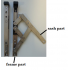"16"" Top Hung Window Friction Hinges (pair)"