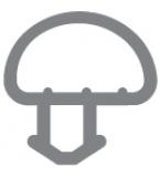 Option 10: Bubble Seal Window Gasket / Door Gasket