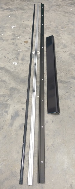 Si Siegenia Tilt And Slide Patio Door Track Kit Psk