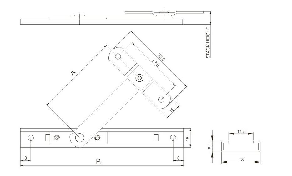 Ideal Friction Arm Restrictor